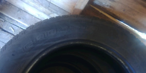 225 65 17 Continental . 3 tires . Good condition $60
