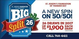 Big Split 26 Lottery Tickets