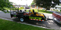 snow plowing and snow blowers lawncare seasonal.  613-362-1157