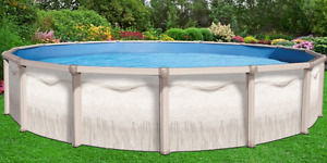 21' Galvanized steel in/above ground pool frame