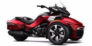 2016 Can Am Spyder F3-T 1330 Triple / (No Audio) / Brand New