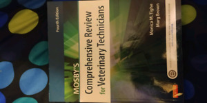 Mosby's comprehensive review for veterinary technicians 4th ed