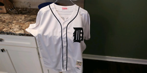 Authentic Mitchell & Ness Cooperstown Tigers Jersey