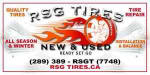 RSG TIRES USED & NEW