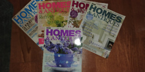MAGAZINES OVER 100 OF OLDER ENGLISH HOMES & ANTIQUES BBC