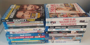 Blu-Ray Lot of Comedy Movies