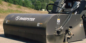 SB Pick-Up Broom for Skid Steers by Sweepster - SALE