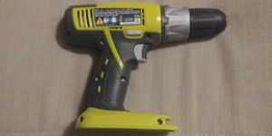 Ryobi cordless drill/ driver, bare tool only.