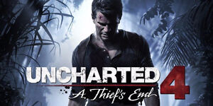 Uncharted 4 - sealed PS4 BRAND NEW MUST GO NOW!!!!!!!!!!