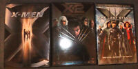 X-Men Movies 1, 2, and 3 - DVD