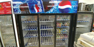 Large working Coca-Cola and Pepsi cooler. ($650 each)
