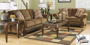 Brand NEW Montgomery Mocha Sofa Set! Call 306-970-3822!