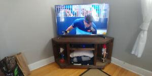 Corner TV Stand.