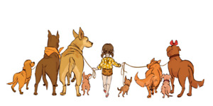 Dog walker available!