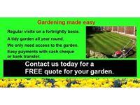 M&J gardening services