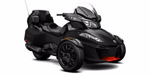 2016 Can Am Spyder RT-Special Series / Triple Black