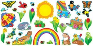 Spring Time Bulletin Board Set