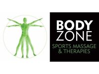 Professional Sports Massage and Injury Therapy in a clinic environment EASTBOURNE & BRIGHTON