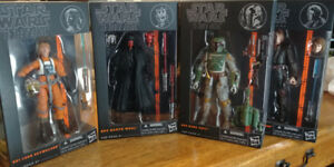 "Hasbro 6"" Star Wars Black series Orange Wave 2013, 1 to 12 *NEW*"