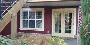 1 bedroom and den above ground suite in Garrison Crossing