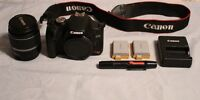 Canon Rebel EOS T1I Camera and Accesories