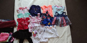 9-12 month girls mixed clothing