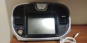 2015 Chrysler 300c touch screen double din factory navigation