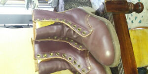 Kingtreads SteelToe Boots Size 7 Brown Never worn