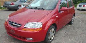 2008 Chevrolet Aveo 1 ANS garantie Hatchback