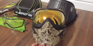 VForce Grill SE Paintball Mask, Plus Many Extras – Never Used