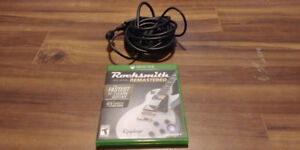 Rocksmith 2014 Edition: Remastered with Guitar Adapter, Xbox One