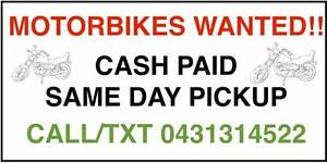 DON'T BOTHER WITH RWC --SELL YOUR BIKE SEAMLESSLY!!!SAME DAY CASH Mordialloc Kingston Area Preview