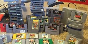 SHEDIAC BUYER LOOKING FOR SNES NES N64 GAMES AND CIB CONSOLES