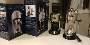 DeLonghi Dedica Coffee Grinder and Espresso Cappuccino Maker
