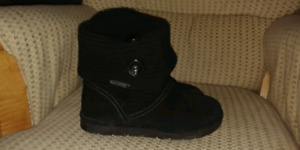 Suede Booties, size 8