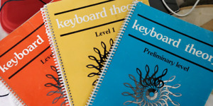 FREE PIANO PRACTICE BOOKS--KEY BOARD AND MORE