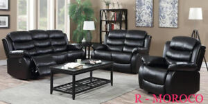 RECLINER SOFA SET ON CLEARANCE