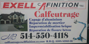 Calfeutrage Exell finitions inc