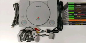 SONY Playstation 1 Console with 1 Controller and 11 Games