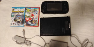 Wii U and 2 games + 3 Wii controllers. Single parts only too.