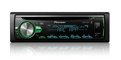 Pioneer 1 Din Car Stereo Cd Player Receiver W  Bluetooth Usb Aux