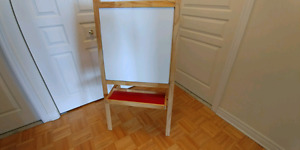 Ikea drawing board double face foldable