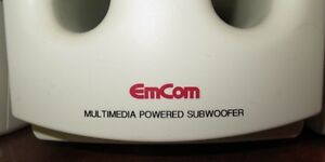 EMCOM Multimedia Subwoofer Speakers in excellent Condition Gatineau Ottawa / Gatineau Area image 4