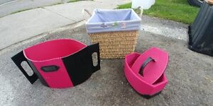 decorative storage containers / basket