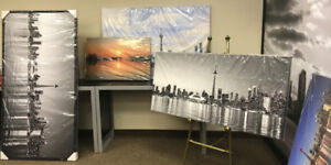 Toronto Skyline canvas art prints available