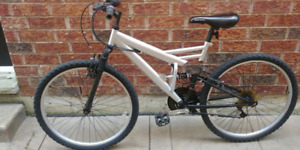 "Supercycle mountain bike with 18"" frame"