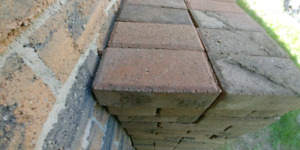 Patio stones. Interlock