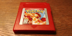 Pokemon Red, still saves for gameboy game boy color