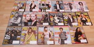 "17 x ""Premiere"" magazines (Hanks, Jolie, Pitt to name a few)"