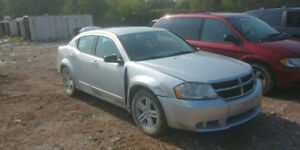 2009 dodge avenger parting out